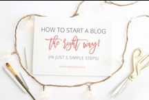 Blogging Tips and Ideas / Useful information for blogging. Ideas, inspiration and more.  / by AKA DESIGN