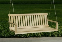 Porch swings / by Suella Palmer