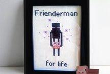 Like an Enderman / Because Endermen are really lovable jerks