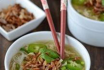 Asian Food / by Erika Wilson