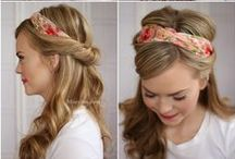 {Hairstyles and Haircare} / Hair styles, haircuts and tips to keep your locks looking beautiful!