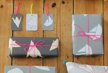 gift wrapping / Creative gift wrapping