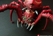 Brain Slug Painting / some tutorials I find useful when painting my army