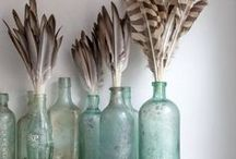 Collecting Feathers / Feathers. Natural and fabricated.