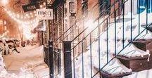 City Snowscape
