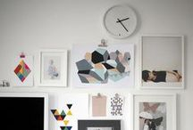 Interiors - Gallery Walls / A collection of inspirational Gallery walls featuring art, photography, and collectibles.  / by Heather Lisi