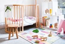 """Kid's Rooms - Modernist + Minimal / I design spaces for kids. Some are what I call """"Modernist"""". Sometimes clients don't know what that means, so this collection is a great way to communicate! / by Heather Lisi"""