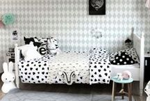 """Kid's Rooms - Hip + Edgy / I design spaces for kids. Some are what I call """"Hip and Edgy"""". Sometimes clients don't know what that means, so this collection is a great way to communicate! / by Heather Lisi"""
