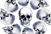 Clouds and skulls and  rock n'roll  / by Machenka