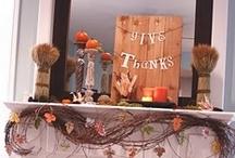 Thanksgiving... / Inspiration For Celebrating Thanksgiving...