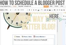Blogging... / Tips & Tricks For Making Blogging Easier And More Effective...