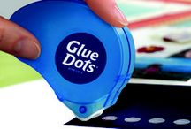 Glue Dots - Adhesive Products / Glue Dots® are a double-sided, instant bonding adhesive, offering you a completely mess-free, easy-to-use adhesive for your life.  Glue Dots are non-toxic, acid-free, conform to ASTM D-4236, compliant to CPSIA, archival, and provide a strong instant bond.  Online retailers include Amazon, Jo-Ann Fabric and Craft Stores, Hobby Lobby, Create for Less, Office Depot, Office Max. Like & re-pin your favorite products!