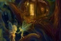 elves and fairies / by petronela ungureanu