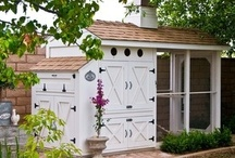 Chicken Coop... / Inspiration For Our Chickens And Their Coop...