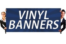 Printing Vinyl Banners / Vinyl banners being effective advertisement tools can be used for announcing events like concerts that will be held shortly or for political campaigns or to advertise that some store is going to have a sale. / by Allstatebanners printing