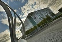 Police Buildings / This board contains images of some of the buildings used by Greater Manchester Police.