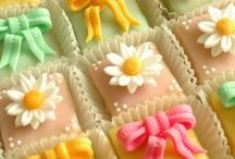 Pretty Petit Fours / These beautiful and tiny cakes are just the finishing touch to a special event!! / by Linda Vivo