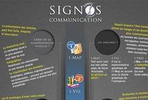 """Signos communication / THE KNOWLEDGE DESIGN AND ART DIRECTORING TO SIGNOS COMMUNICATION; www.signos-communication.fr Améliorer la communication des idées et de l'action à l'aide de méthodes d'infographie et d'outils d'animation visuels. """"i-Map"""", """"i-Viz"""", """"i-Prez"""", """"i-360""""... infographies, info-visualisation, data-visualisation, animation et visualisation. """"A pic is worth a 1000 words"""" confucius"""