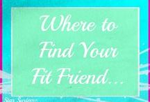 Fit Friends Friday ♥ / How to get fit with friends