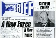 A History in Brief /  We have decided to begin uploading some of the front covers of Brief - Greater Manchester Police's magazine. Brief has been keeping officers and staff – along with members of the public – updated about all the major events & developments in the Force for nearly 40 years. It has changed in size & style many times, beginning as a black and white newsletter and going on to become tabloid-sized and in full colour. Today it's magazine style and is delivered on-line, but its role remains the same