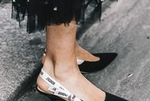 SHOES / Shoe style inspiration by Pam Hetlinger from the fashion blog, The Girl From Panama. Trending shoes, heels, flats, sandals, mules, boots, and every shoe in between. {www.thegirlfrompanama.com}