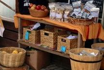 Handcrafted Package & Display / Ideas for packaging and displaying homemade, handcrafted items. Soaps, food, sewing, crafts. Craft show displays. Store displays. Wrapping, tags, layouts, box sets. / by Jamie Oliver {Walking In High Cotton}