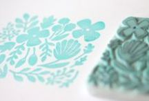 eraser stamp & others. / by idadhip .