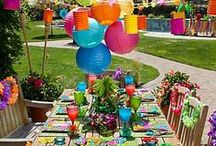 Tropical party / Ideas for a fun tropical themed party or shower.