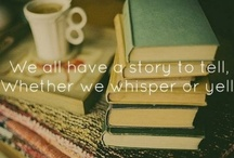 I.am.writer.hear.me.type. / It may be nasty, it may be heart touching. Writing inspiration comes in all forms / by Carly Palmatier