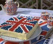 Diamond Jubilee party / Inspiration for a tea party to celebrate the Queen's Diamond Jubilee.
