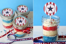 4th of July & Summer Entertaining / crafts, special foods, family activities, new traditions, educational tools / by Jamie Oliver {Walking In High Cotton}