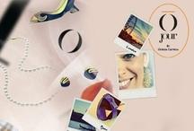 OJOUR / O Jour è è il marchio scelto dalla stilista padovana Giorgia Caovilla per le sue collezioni di scarpe. Nel nome è racchiusa la filosofia che inspira e guida la realizzazione di ciascun pezzo: vestire i piedi nella molteplicita' di situazioni di cui e' fatta la vita di tutti i giorni di una donna, senza rinunciare a quattro requisiti imprescindibili di qualita', stile, praticitia' e versatilita'. / by Vittoria Smania
