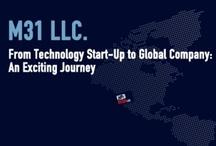 M31 LLC. / M31 Llc. è un incubatore di aziende con sede in California nella Silicon Valley. Si rivolge ad aziende tecnologiche che vogliano aprire una start up nella Silicon Valley o espandere il proprio business nel mercato americano. / by Vittoria Smania