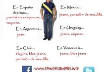 Variedades del español/Varieties of Spanish