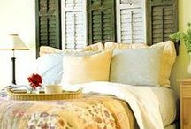 """Guest Bedrooms / ideas for future guest bedrooms--bedroom ideas that just don't fit with our """"right now"""" / by Jamie Oliver {Walking In High Cotton}"""