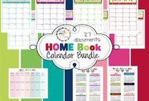 Organizing Planner & Printables / by Elaine Mellody