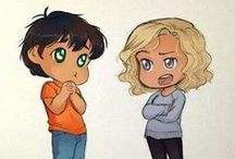 Percy Jackson / Percy Jackson and Heroes of Olympus  / by Julia Yoder