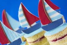 Sailboat party / Inspiration for a nautical sailboat birthday party