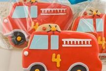 Fire Truck party / Inspiration for a fabulous fire truck birthday bash.