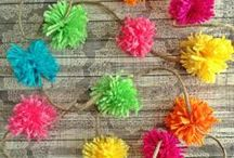 Fiesta party / Inspiration for a colourful Mexican fiesta birthday party