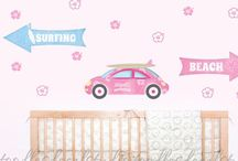 Baby girls tropical room / Stuff to decorate / by Krissi Gabriel