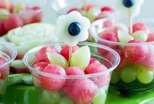 Healthy party food / Recipes and serving ideas for healthy food for parties and showers.