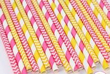 Pink Lemonade Party / Inspiration for a sweet pink lemonade birthday party.