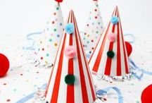 Circus Party / Inspiration for a fun circus or carnival birthday party.
