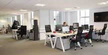 Office Design Ideas / Office design ideas, office kitchens, boardrooms and meeting rooms. Find out more at www.jbhrefurbishments.co.uk