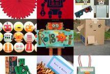 celebrate : robot birthday party / by Sarah Niemann