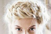 Wedding Hair Inspirations / I am a makeup artist but, I love hair!