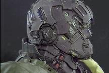 3D / 3D art. Maya, Cinema 4D, 3D Studio Max and the like. / by Gabe Watkins