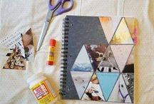 art journals/albums/collage