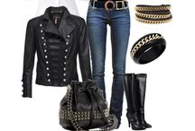 Outfits ~ Black / by Debra Kelly Myers